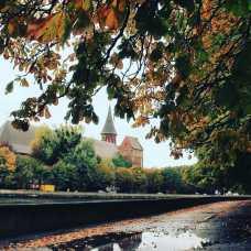 Кафедральный собор осенью
