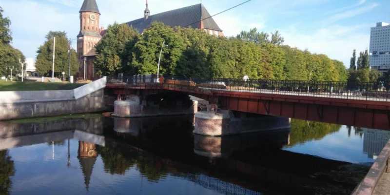 Памятники Кёнигсберга. Экскурсия по медовому мосту на остров Канта