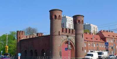 Памятники Кёнигсберга. Закхаймские ворота Калининградских оборонных сооружений