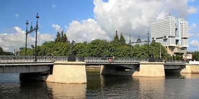 Памятники Кёнигсберга. Деревянный мост в Калининграде
