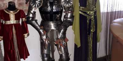 Шаакен - орденский замок. Доспехи и одеяния средневековья в замке Шаакен Калининградской области
