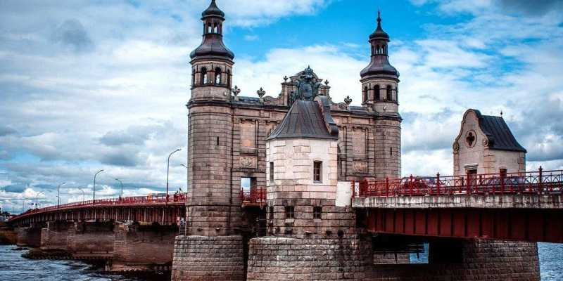 Рыцарь Тевтонского ордена. Мост Королевы Луизы
