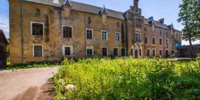 Рыцарь Тевтонского ордена. Старинный прусский замок Тевтонского ордена Замок Вальдау