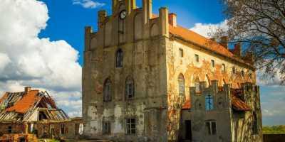 Рыцарь Тевтонского ордена. Георгенбург - Старинный замок Тевтонского Ордена