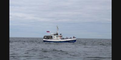 Морской волк. Рыбалка на катере в Калининградской области