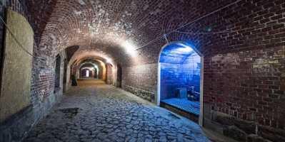 Город-крепость Кёнигсберг. Форт внутри. Калининград