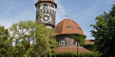 Янтарный-Светлогорск: Колыбель солнечного камня. Башня водолечебницы в Светлогорске
