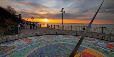 Янтарный-Светлогорск: Колыбель солнечного камня. Солнечные часы в Светлогорске