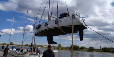 На яхте по Балтийскому морю. Подготовка яхты к морской прогулке