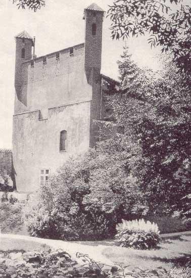 замок Шаакен фото до разрушения