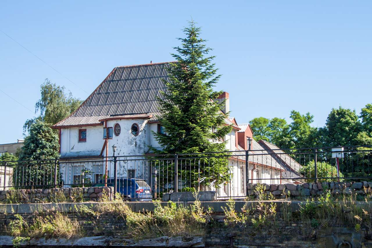 Водная экскурсия Калининград. Старая пожарная станция