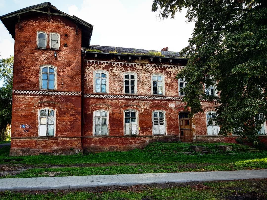 Музей в Низовье. Бывшее здание старой школы
