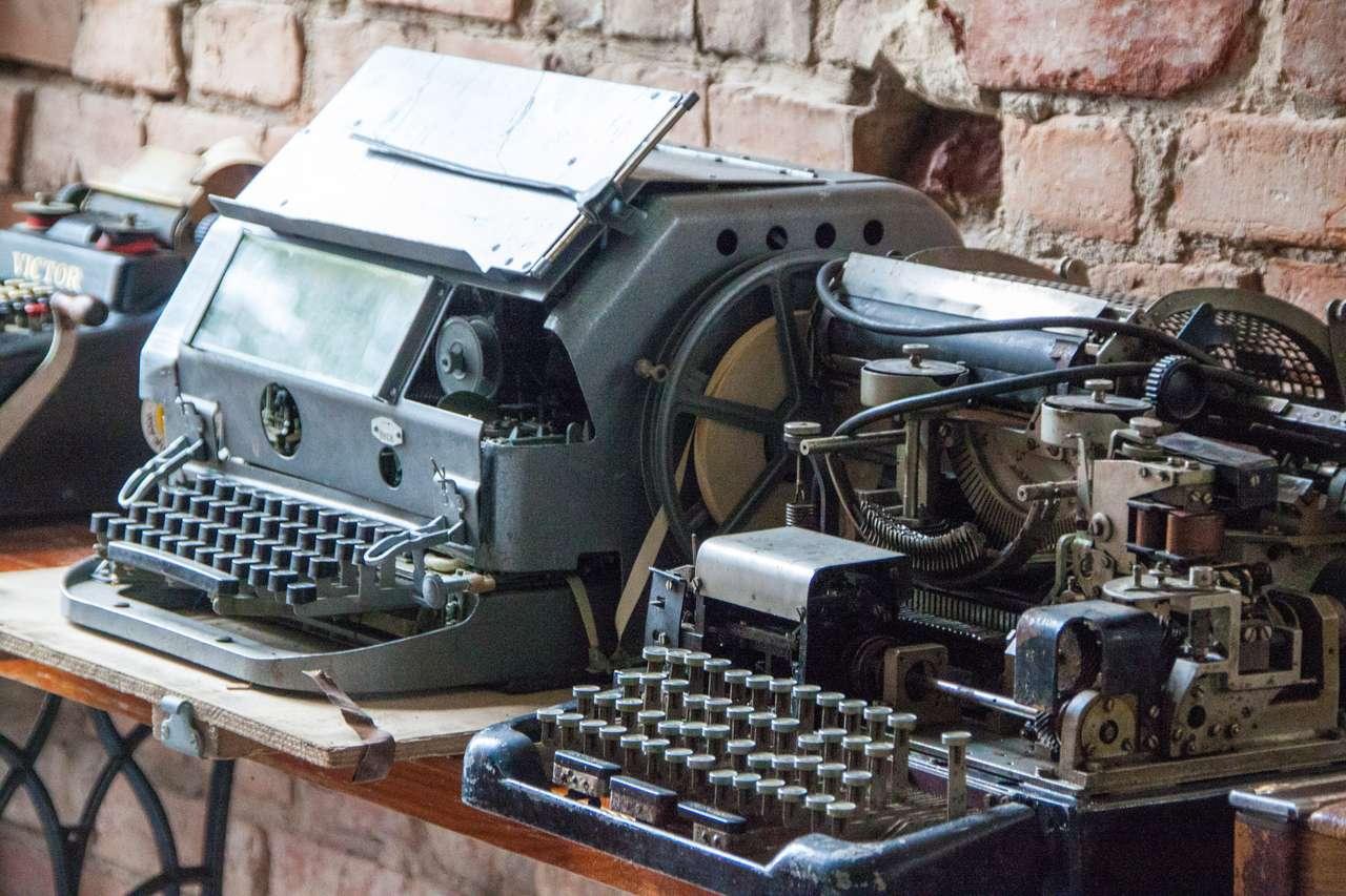 Немецкая печатная машинка