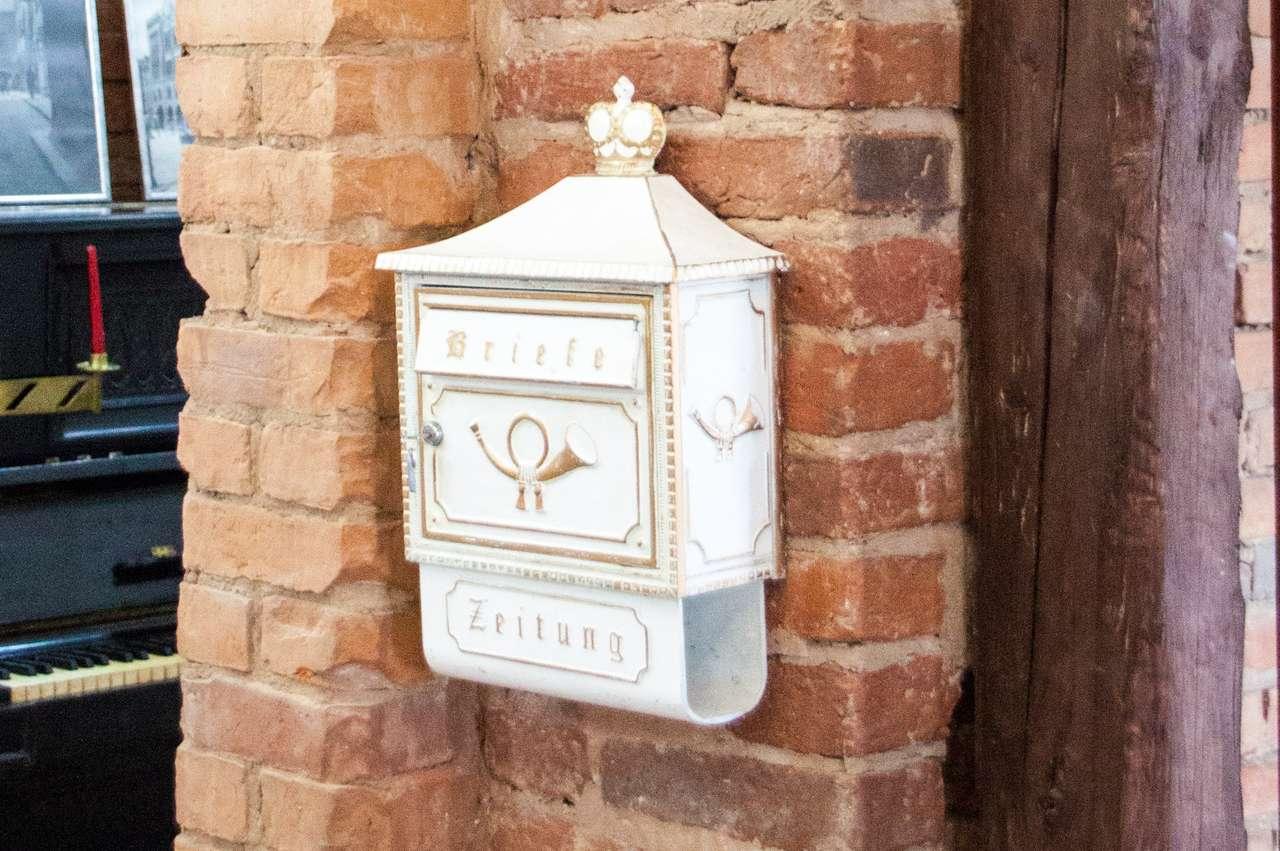 Немецкий почтовый ящик. Реставрирован
