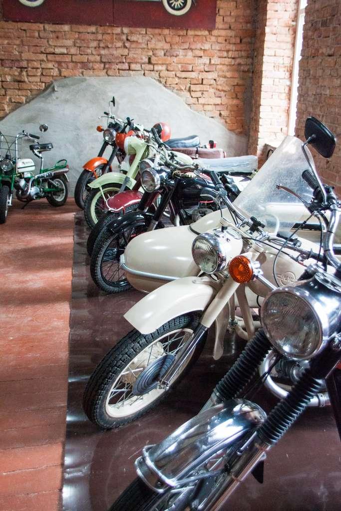 Ретро мотоциклы. Музей Старь