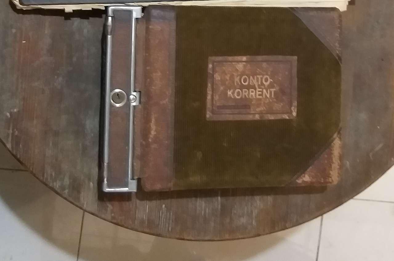 Немецкая конторская книга, до 1945 года