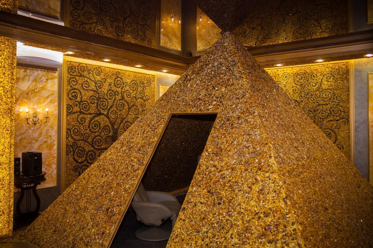 Янтарная пирамида для оздоровления и лечения