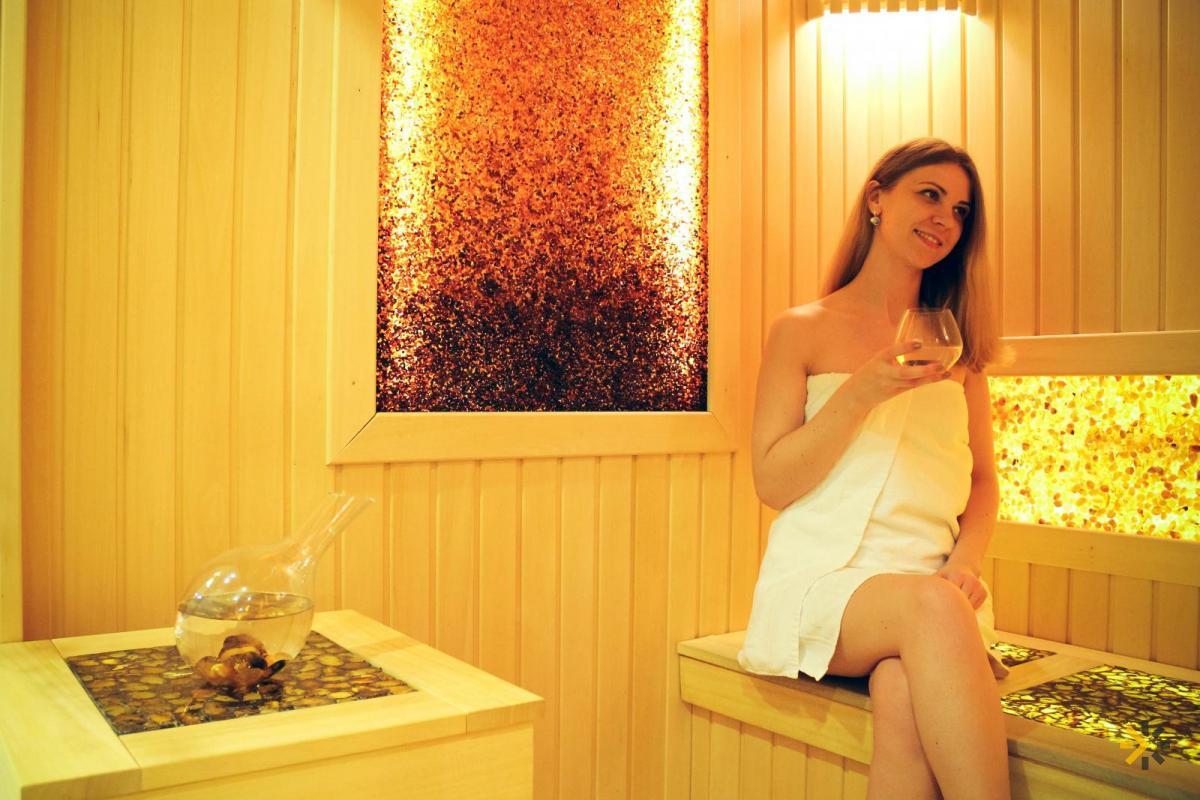 Янтарная сауна для оздоровления и лечения