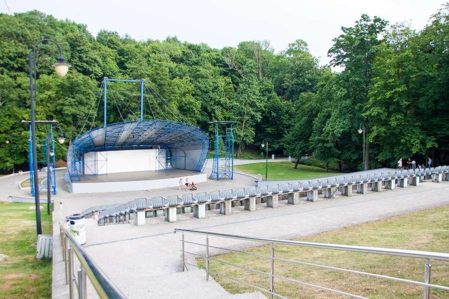 Спорт и парковые зоны для отдыха в Центральном районе